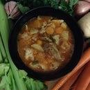 Healthy No Waste Chicken Soup