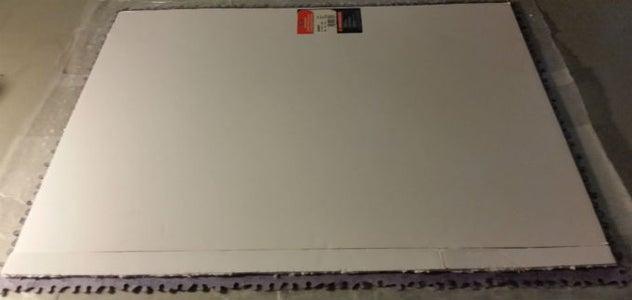 Foam Board Placement