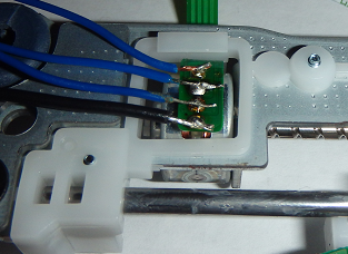 Solder on Wires Leads to Stepper Motor