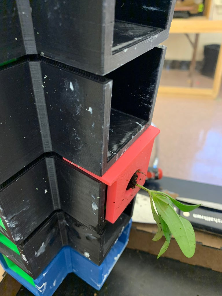 Install Grow Boxes and Lids