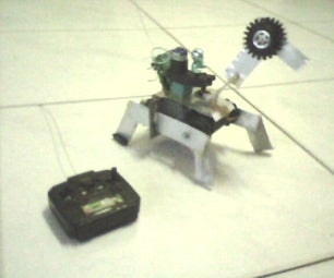 Making a Simple RC Camel Robot
