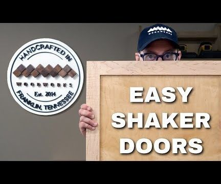 How to Make Shaker Style Doors