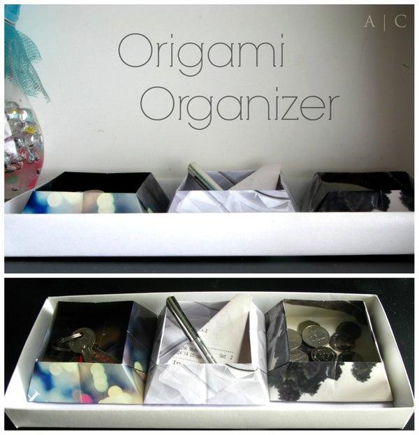 Origami Organizer Boxes