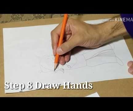 How to Draw Chota Bheem Step by Step