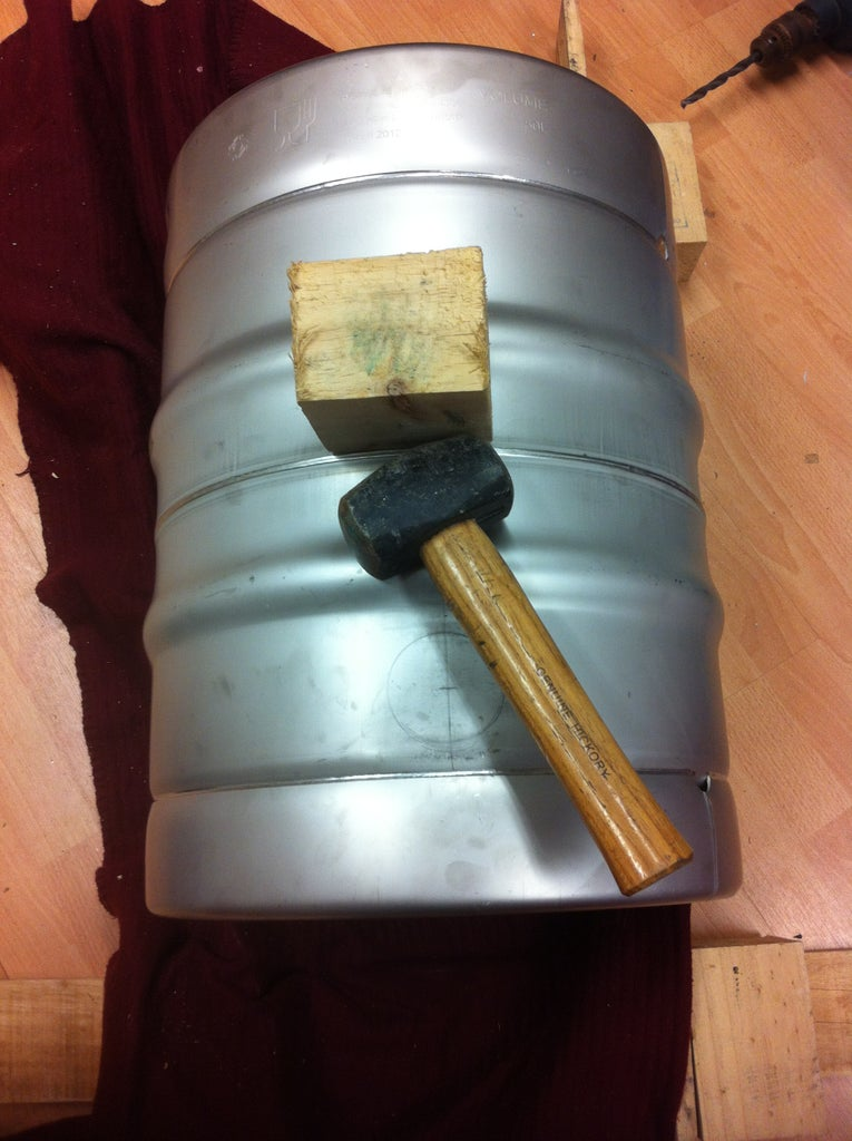 Preparing the Keg