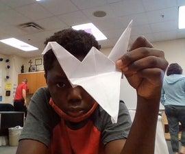 Oragami Flapping Crane(EASY)