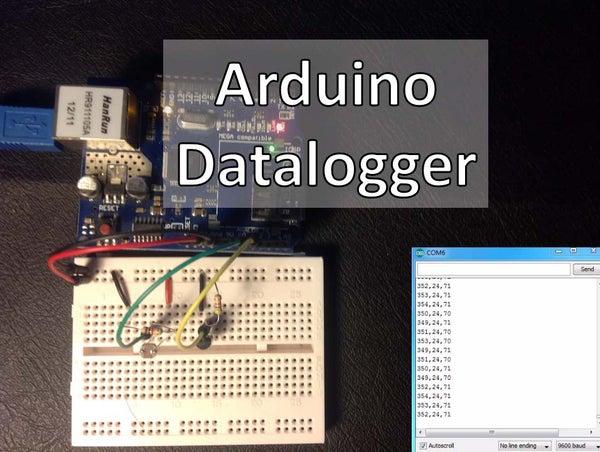 Arduino – Datalogger With Temperature Sensor and Photoresistor