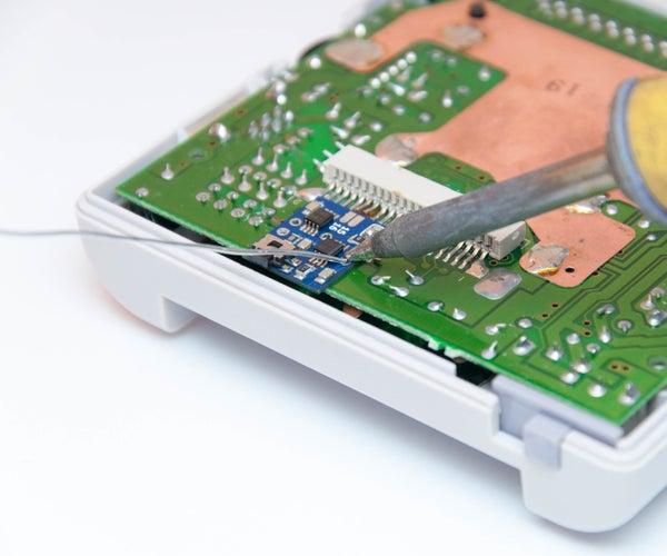 Game Boy™ DMG Bi-vert Chip Installation