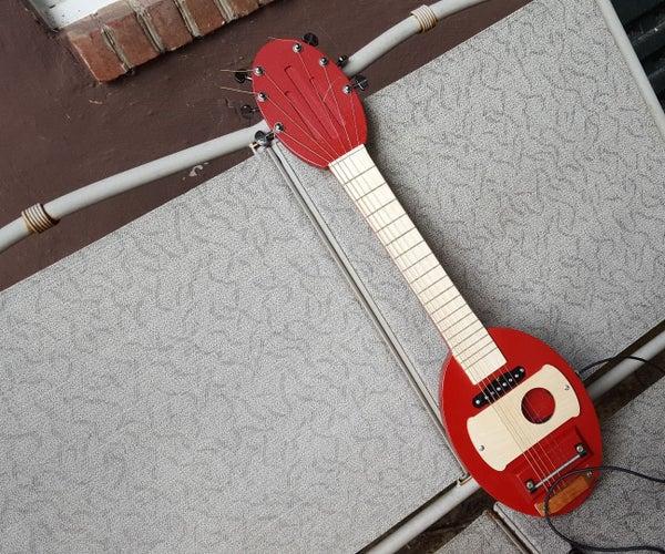 $35 DIY Electric Travel Guitar