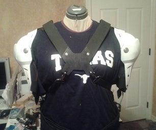 Shoulder Pads for Robot Costume