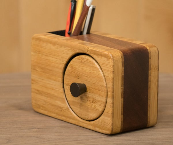 Bandsaw Box With Pencil Holder