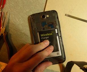 Galaxy Note 2(Verizon / I605)无线充电Mod