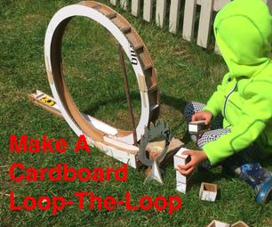 DIY Cardboard Loop-The-Loop - for Toy Cars