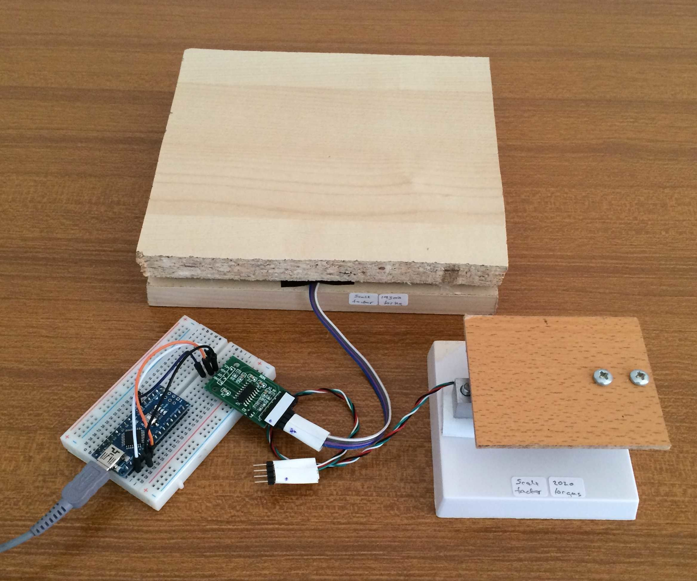 How To Build Arduino Weighing Scales 8 Steps With Pictures Instructables