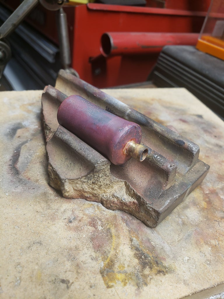 Forging the Body and Soldering the Spout