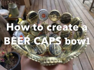 BEER CAPS BOWL