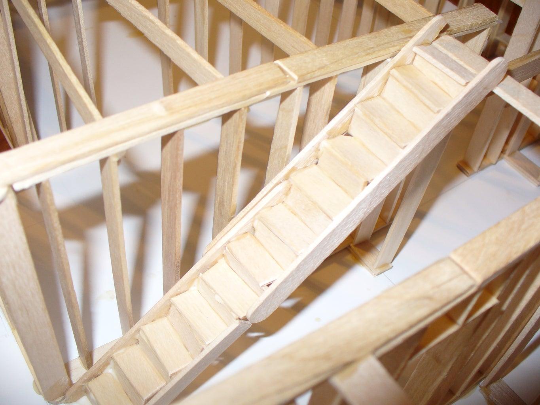 Floor Beams/Stairs