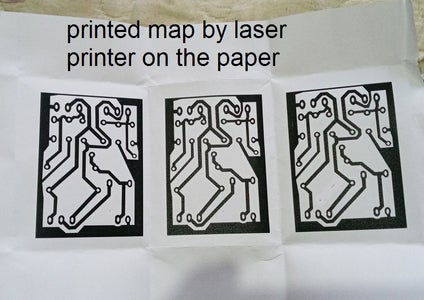 Print Your Plan on the Paper by Laser Printer in the Mirror Plan