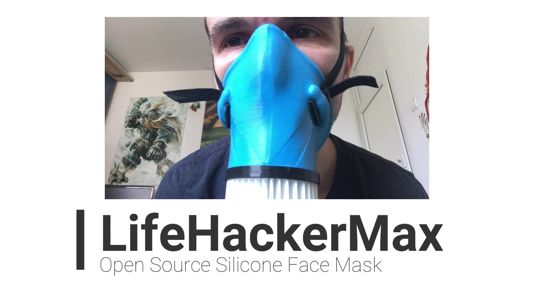 LHM Silicone Face Mask