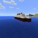 Minecraft Tutorial Quickie #2 - Tiny Ocean Liner!
