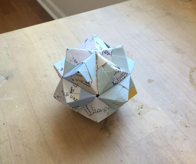 Modular origami – Polypompholyx | 2040x2448