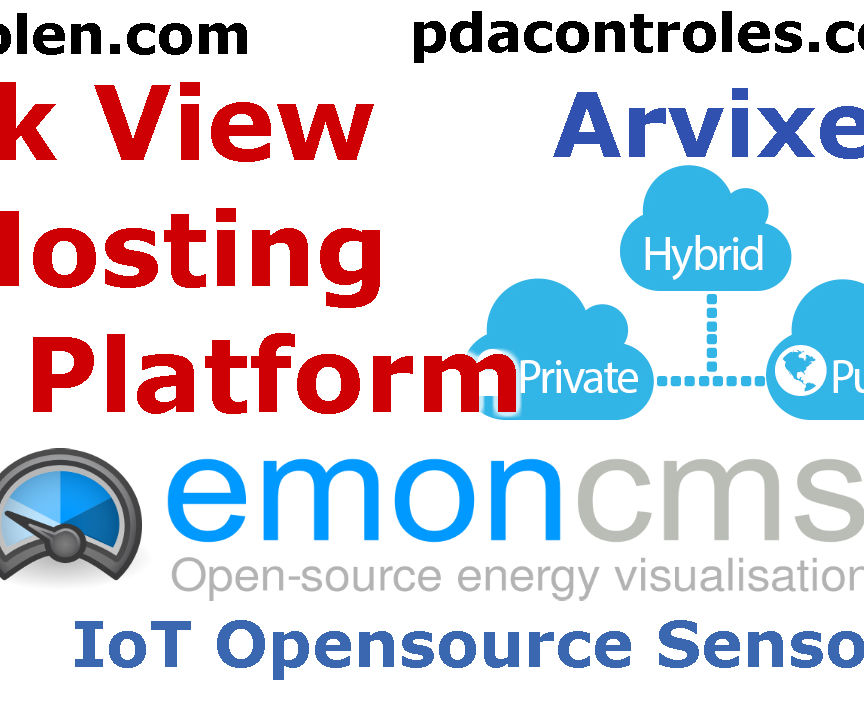 Quick View to Platform IoT Emoncms OpenEnergyMonitor in Hosting