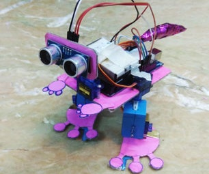 Arduino Bi-ped (baby Dino)