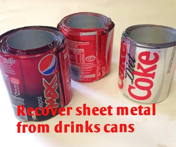 Reclaim Scrap Metal - Recycling Drinks Cans