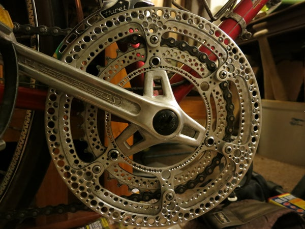 Make Your Own Drillium! (Drilled Bike Components)