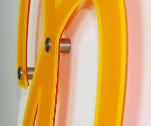 Laser Cut Acrylic Wall Décor