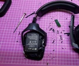 Logitech G930 Battery Upgrade
