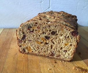 Barmbrack - Yeast Free Irish Fruit Bread