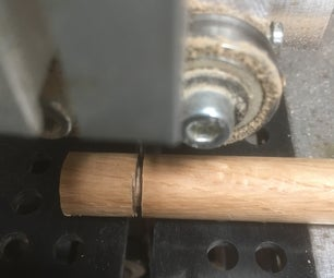 """""""Turning"""" a Dowel on the Bandsaw for Mortise and Tenon Joint"""