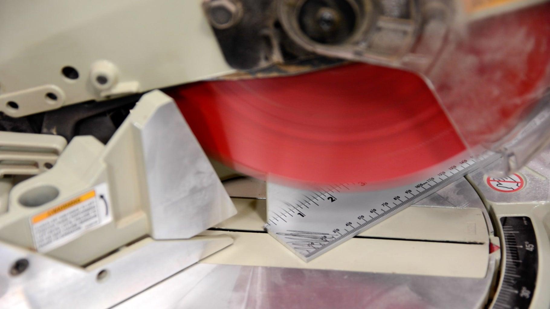 Step 10: Cut Aluminum Ruler