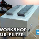Workshop Air Filter With Old Car Filter