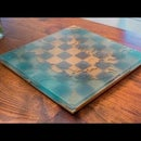 Making an Epoxy Ocean Chessboard