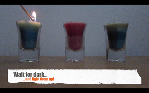 Wait for the Dark and Light Them Up!