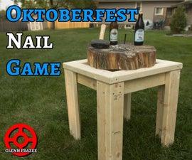 Oktoberfest Nail Game | Nagelbalken | Der Nagelspiel