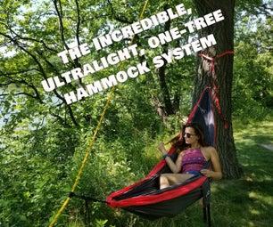 One-Tree Hammock System, Ultralight