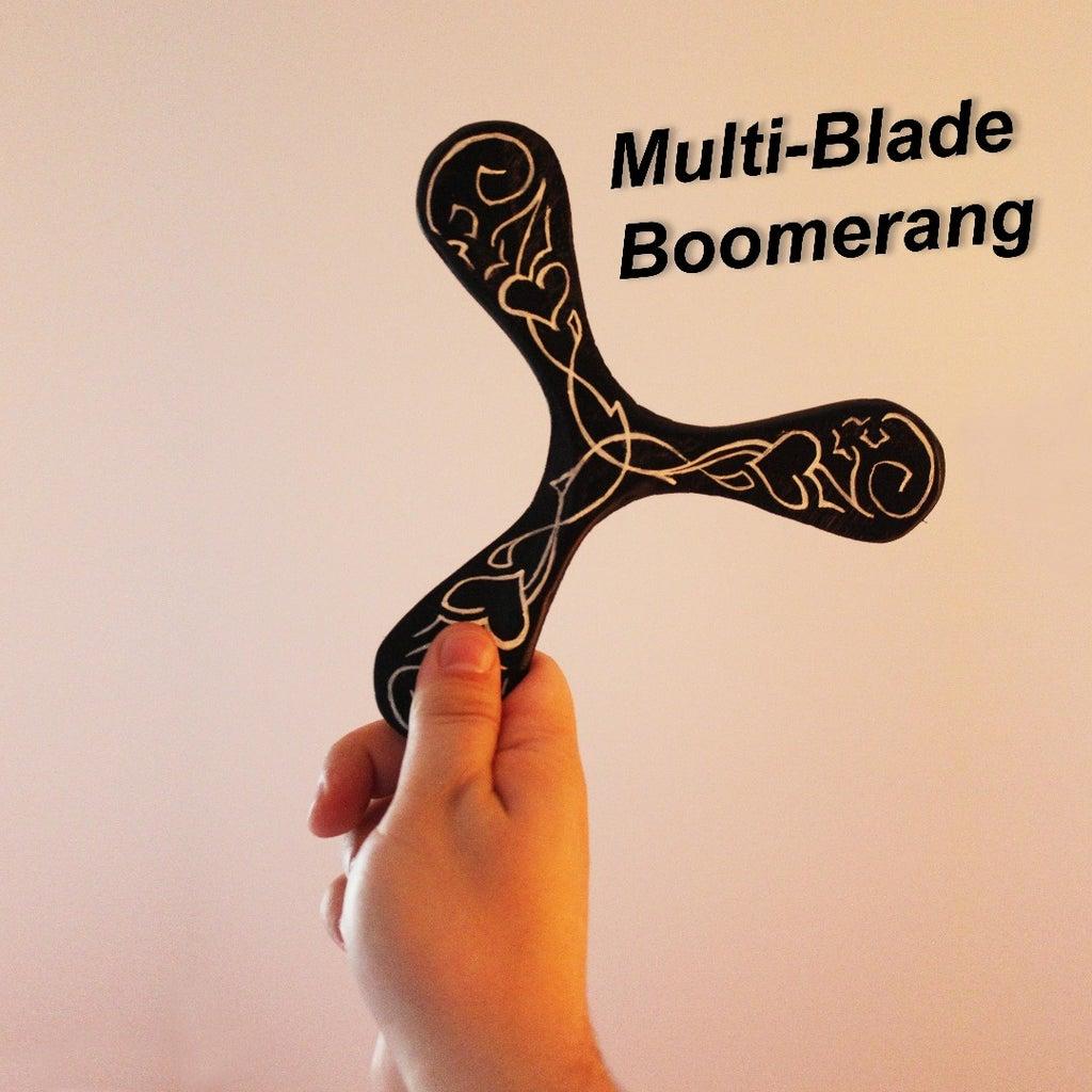Multi-Blade Bomerang