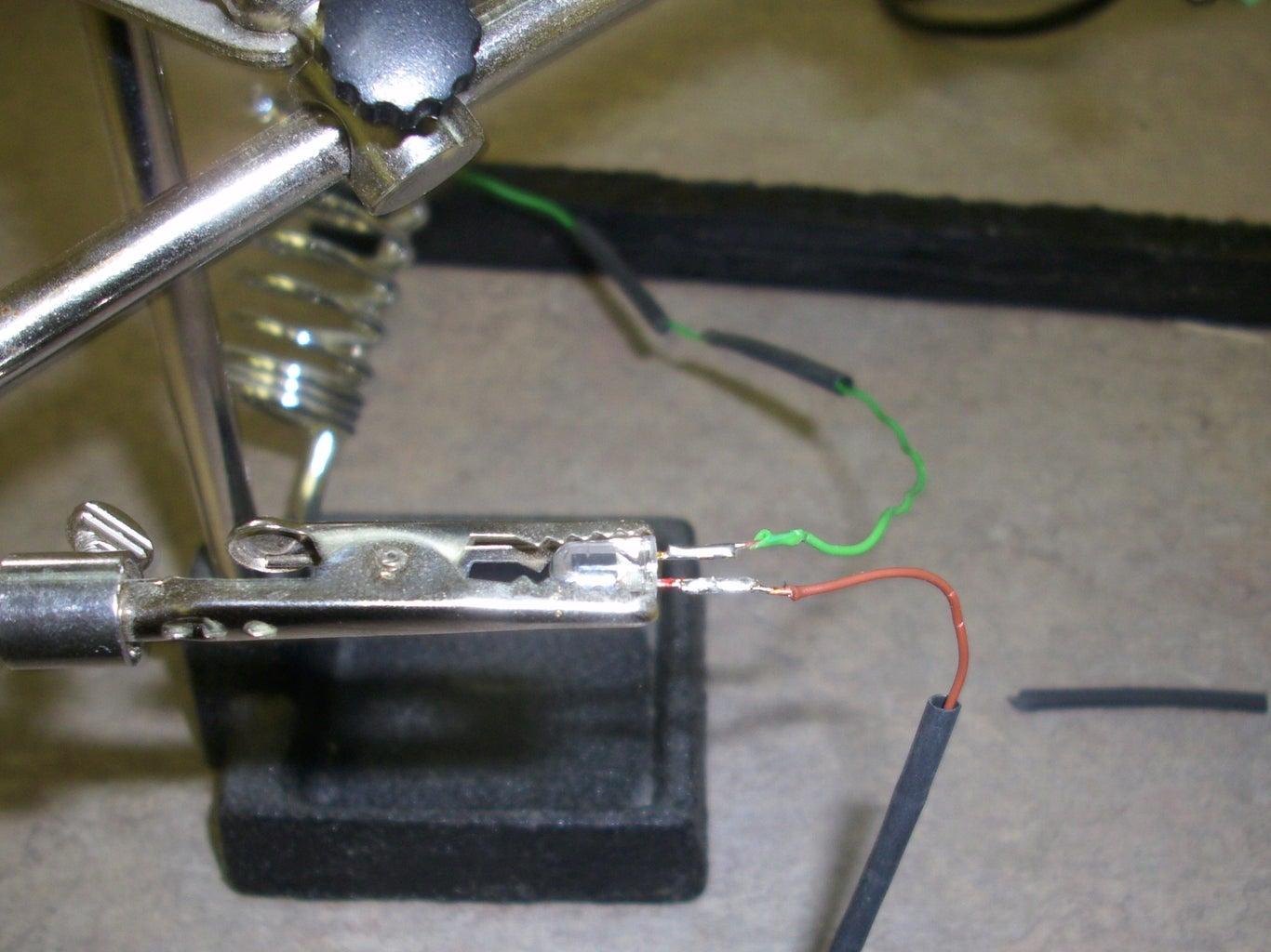 Solder the LEDs to Your Control Wires