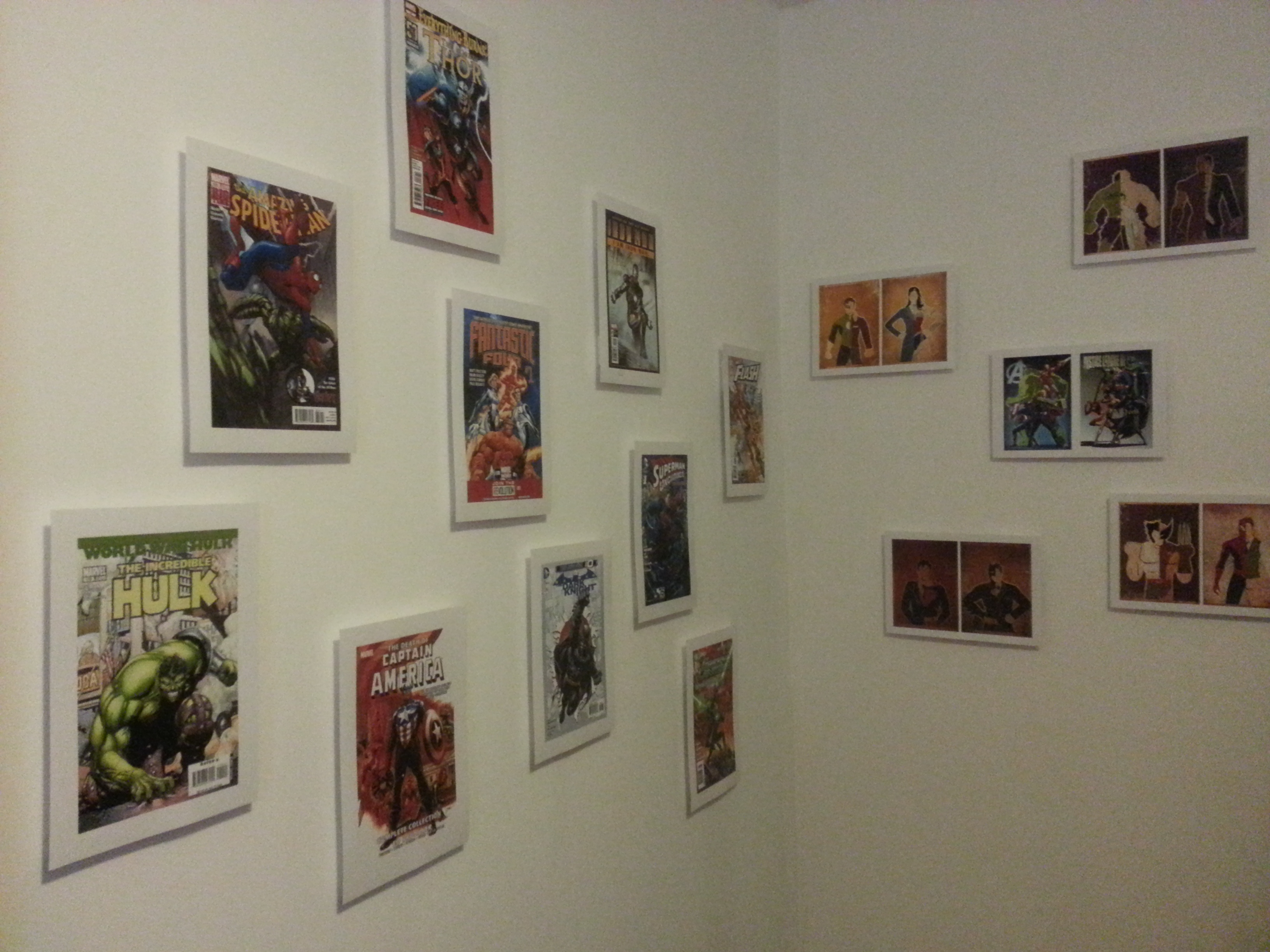 Frameless Floating hanging pictures on wall (0,00€ / 0,00$)