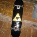 spray paint a triforce on stuff