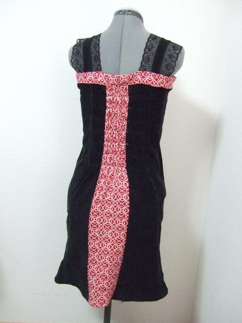 Refashion: Corduroy Jeans to Dress
