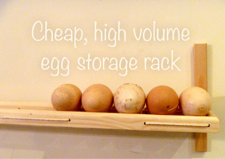 High Volume Egg Storage Rack
