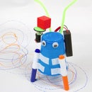 DIY Scribbling Doodle Bot Project - STEM Classic Made Better