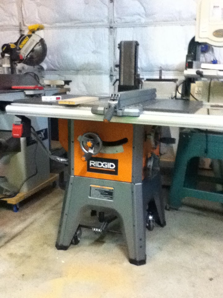 Saw Pal Installation On A Rigid R4512 Table Saw 3 Steps Instructables