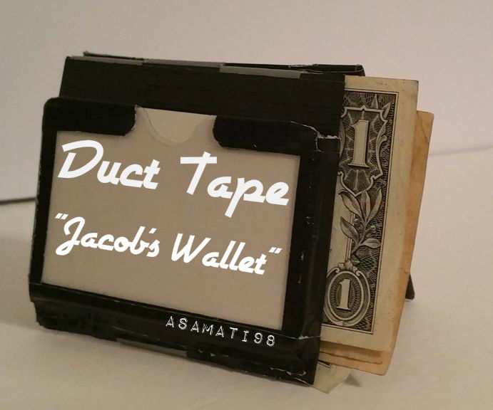 "Duct Tape ""Jacob's Wallet"""