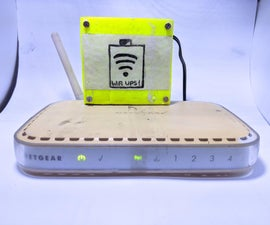 DIY UPS for WiFi Router