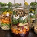 Salad Jars 5 Day Meal Prep